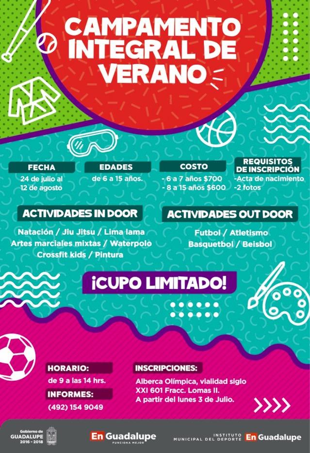 Campamento de verano para niños y adolescentes 381d1a7e43e